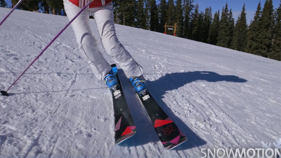 Snow Motion Ski Tip - Ankle Roll
